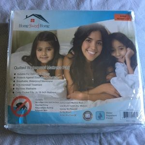 Brand New King Size waterproof mattress pad